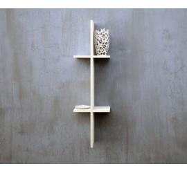 Sistema Mensole Cross, mensola verticale da 24 x 82 cm