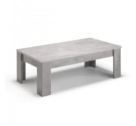 Greta Tavolino da Salotto Marmo Laccato Lucido, 126 x 66 x h42 cm